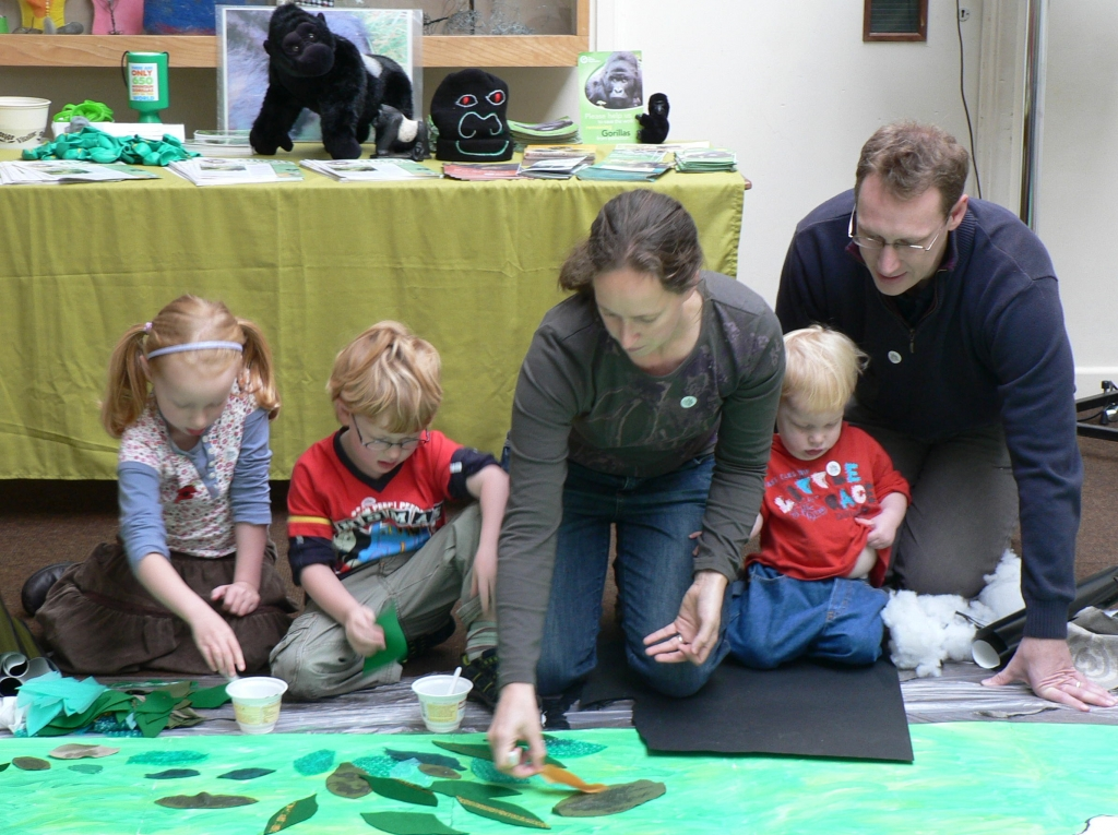 Family Activity Day Nature-in-Art 2009