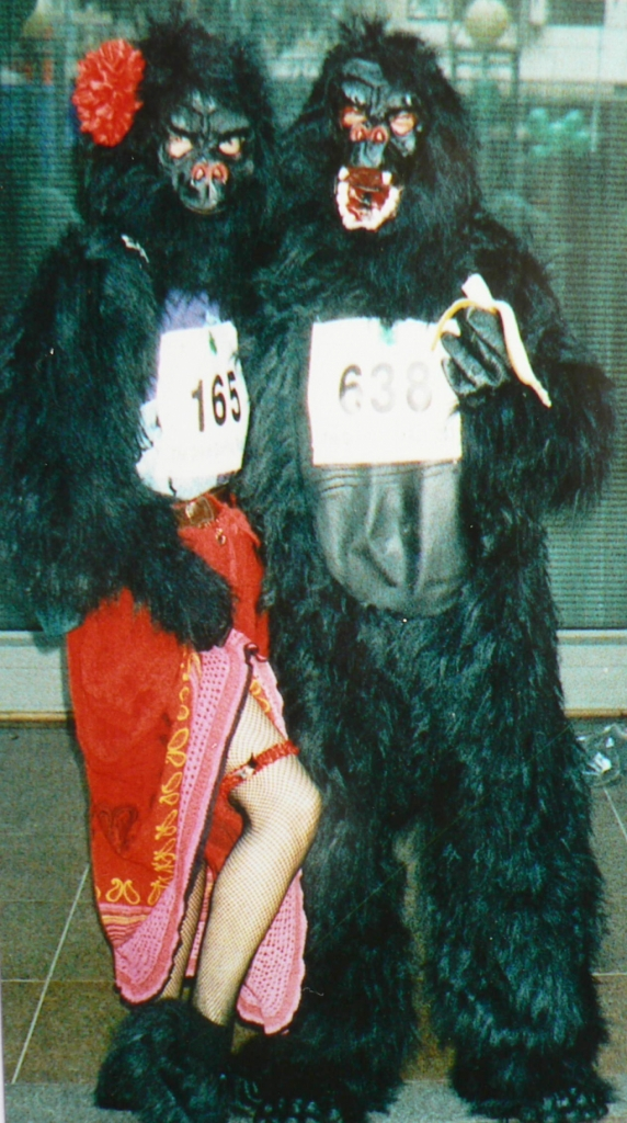 Phred & Frizz Great Gorilla Run 2003